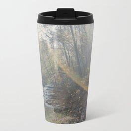 First Light Beams Travel Mug