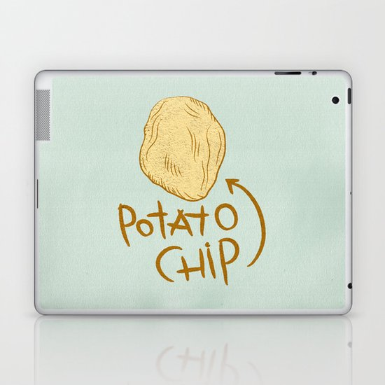 POTATO CHIP Laptop & iPad Skin
