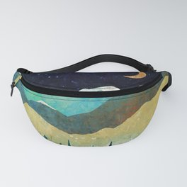 Snowy Night Fanny Pack