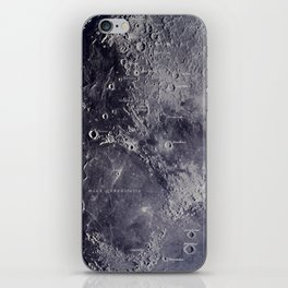 Experiment 01: The Moon, Mare Serenitatis iPhone Skin