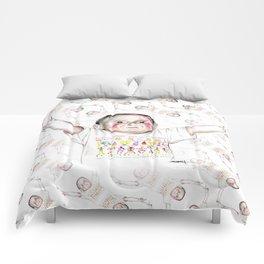 Victorious baby - Bebé victorioso Comforters