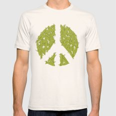 Peas Natural SMALL Mens Fitted Tee