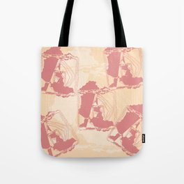Fractal of the West Style Design Tote Bag