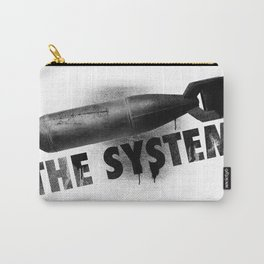 Bomb the System Carry-All Pouch