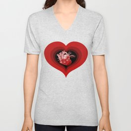 Delicious Valentine Unisex V-Neck