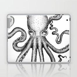 Stippled Octopus  Laptop & iPad Skin
