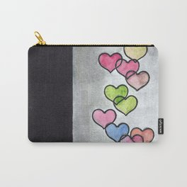 Periscope Hearts Carry-All Pouch