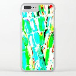Bright Sugarcane Clear iPhone Case