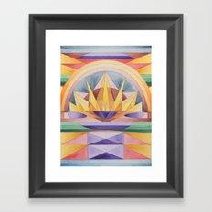 Summer Rising Framed Art Print