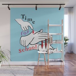 ASL Time for School Wall Mural