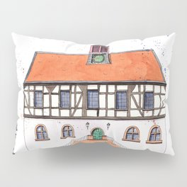 Timber-Framed House from Germany Pillow Sham