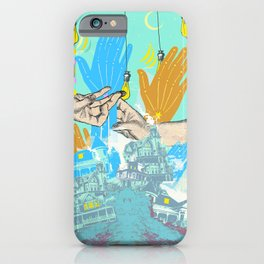ALL HANDS iPhone Case