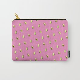Avocado Print   Pink Carry-All Pouch