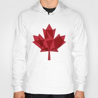 canada Hoodies featuring O Canada by Fimbis