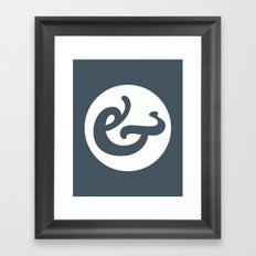 Ampersand Series - #1 Framed Art Print