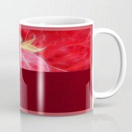 Mottled Red Poinsettia 2 Blank Q10F0 Coffee Mug