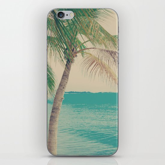 Coco Palm in the Beach  iPhone & iPod Skin