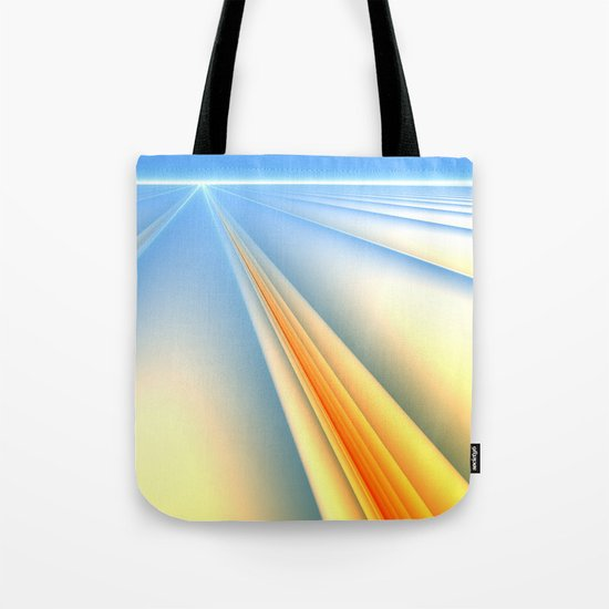 The Blinding Light of Day Tote Bag