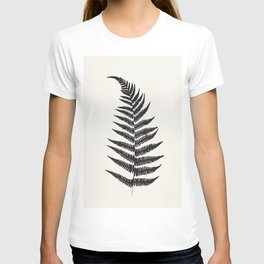 Minimal Fern Leaf T-shirt