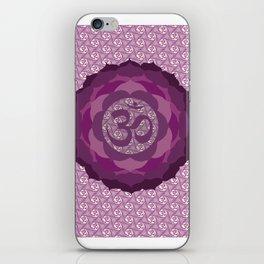 Sahasrara Chakra Serie iPhone Skin