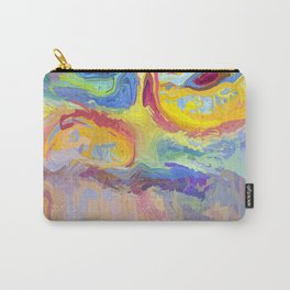 485 - Abstract colour design Carry-All Pouch