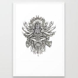 Sea Shaman Framed Art Print