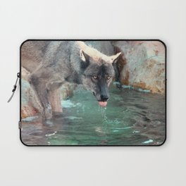 Thirsty Like the Wolf Laptop Sleeve