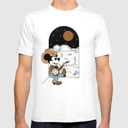 """""""Cowboy Mickey Mouse"""" by Allie Falcon T-shirt"""