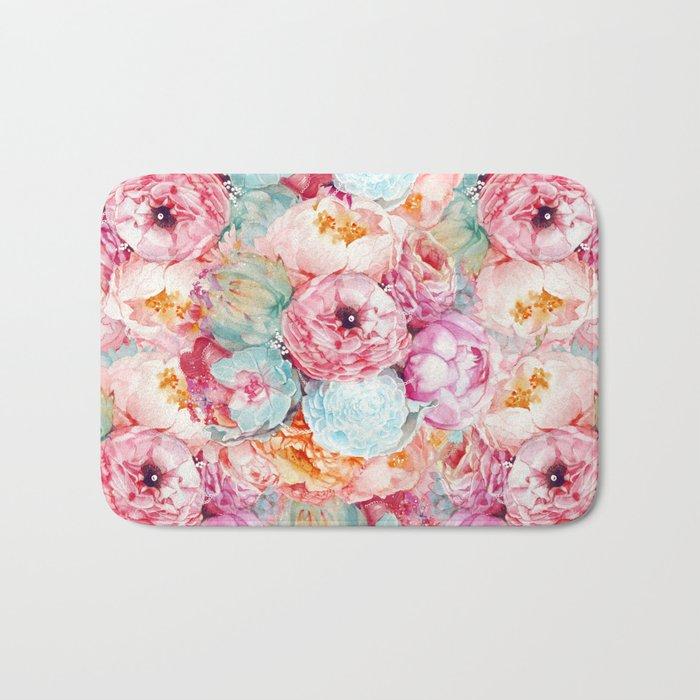 Spring Bouquet Bath Mat
