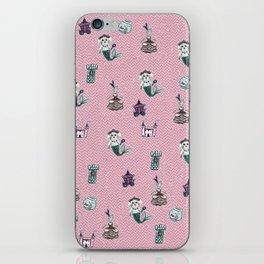 fairytale print iPhone Skin