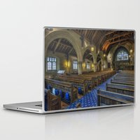 christ Laptop & iPad Skins featuring Christ Church by Ian Mitchell