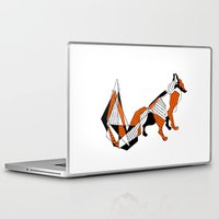 literature Laptop & iPad Skins featuring literature fox 2 by vasodelirium