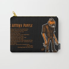 Autumn People 4 Carry-All Pouch