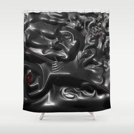 The Penetraiting Matter Shower Curtain