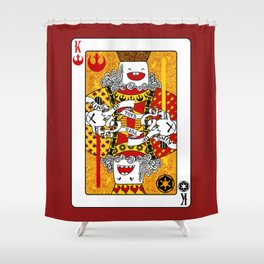 King of Toys Shower Curtain