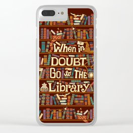Go to the library Clear iPhone Case