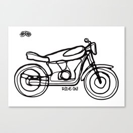 Ride On! Canvas Print
