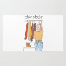Girls wardrobe dream Rug