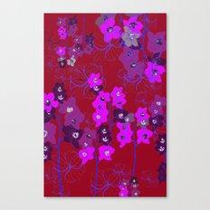 Oriental Orchids Canvas Print