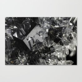 XX Square Quartz Canvas Print