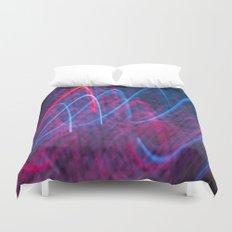 Light Wave Duvet Cover