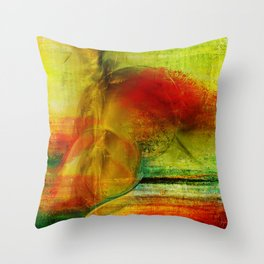 Mayaz abstraction Throw Pillow