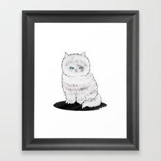 grumpy Framed Art Print