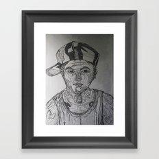 Youth Dayz Framed Art Print