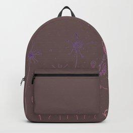 Doodle Garden Digital Art Backpack