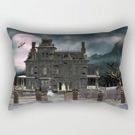 Haunted House 1 Rectangular Pillow