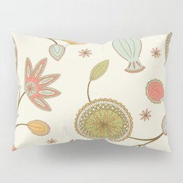 Mehndi Flower Pillow Sham