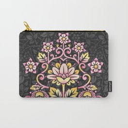 Damask Rose Carry-All Pouch
