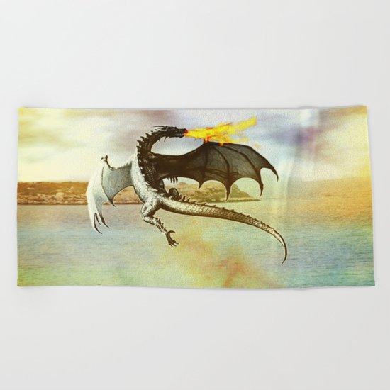The Dragon Beach Towel