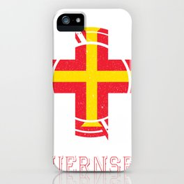 guernsey Round Coat of Arms iPhone Case